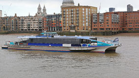 Thames Clippers Royalty Free Stock Images