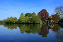 The Thames at Cookham Royalty Free Stock Images