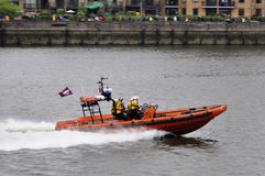 The Thames Diamond Jubilee Pageant Stock Photo