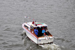 The Thames Diamond Jubilee Pageant Royalty Free Stock Photos