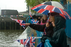 Thames Diamond Jubilee Pageant Stock Photo