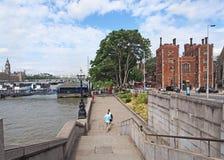 Thames Embankment Stock Image