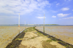 Thames estuary Stock Photo