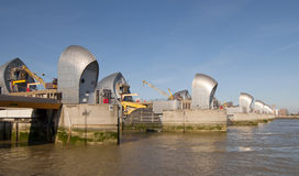 The thames flood barrier Stock Photography