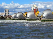 Thames flood barrier Royalty Free Stock Photos