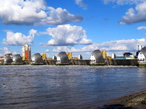 Thames flood barrier stock images
