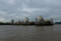 Thames Great Barrier - London, UK Royalty Free Stock Photography