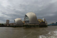 The Thames Great Barrier - London, UK Royalty Free Stock Images