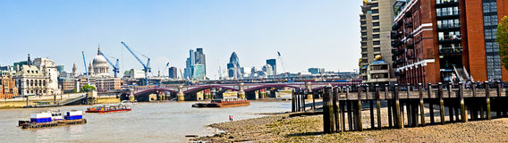 Thames in london Royalty Free Stock Photography