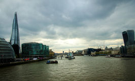 Thames London Royalty Free Stock Photography