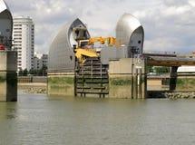 Thames Pływowa bariera Zdjęcia Royalty Free