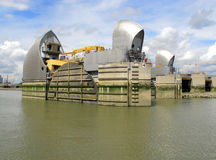 Thames Pływowa bariera Fotografia Royalty Free