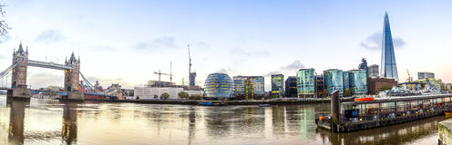 Thames Panorama Stock Images