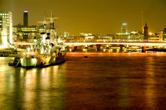 Thames River Stock Photo