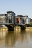 Thames River Royaltyfri Fotografi
