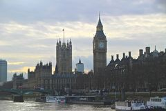 Thames River Cruise Royalty Free Stock Photo