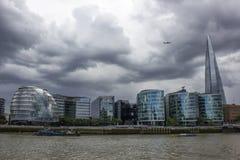 Thames river cruise Stock Photos