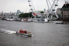 Thames River Royalty Free Stock Photography