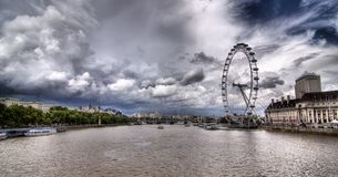 Thames river in London Stock Images