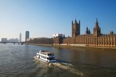 Thames River London. royaltyfria bilder