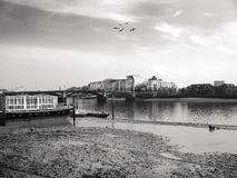 Thames river London Royalty Free Stock Photos