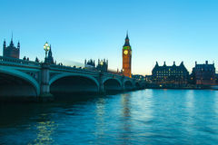Thames river, London. Stock Image