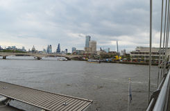 Thames river in london Stock Photography