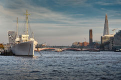 Thames river Stock Photography