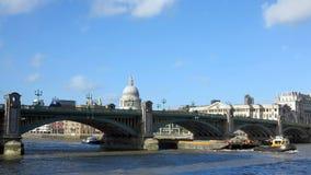 Thames river, london Royalty Free Stock Photo