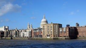 Thames river, london Royalty Free Stock Photos