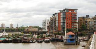 Thames River Londres Imagem de Stock