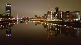 London at night. Thames river  night view Stock Image