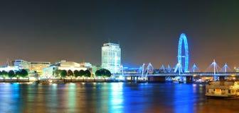 Thames River night Stock Photo