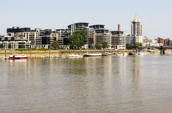 Thames river Royalty Free Stock Images