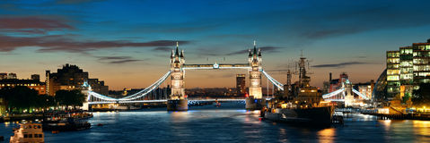 Thames rzeka Londyn Fotografia Royalty Free