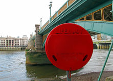 Thames safety Royalty Free Stock Images