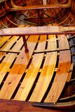 Thames sailing barge. Varnish detail from thames sailing barge Stock Images