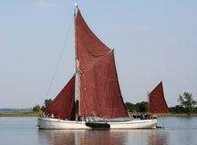 Thames Sailing Barge Royalty Free Stock Photos