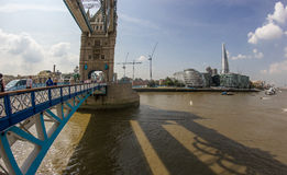 The Thames and the Shard from Tower Bridge Stock Photography