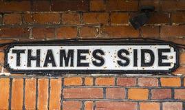 Thames Side in Windsor Stock Photo