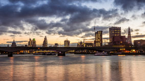 Thames Skyline Royalty Free Stock Photography