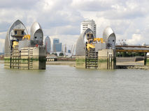 Thames Tidal Barrier Royalty Free Stock Photos