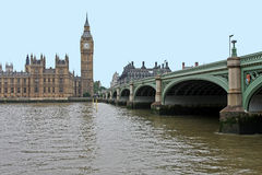 Thames view stock images