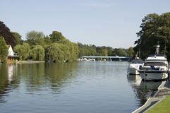 Thames view from Cookham Royalty Free Stock Images