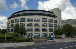 Thames Water Headquarters, Reading. READING, UK - JULY 6, 2014:  Headquarters of the utility company Thames Water in Reading, Berkshire.  The company supplies Royalty Free Stock Photo