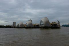 Thames Wielka bariera - Londyn, UK Fotografia Royalty Free