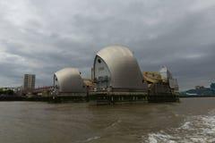 Thames Wielka bariera - Londyn, UK Obrazy Royalty Free