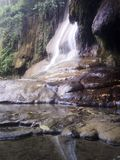 THAMKASA洞驻地北碧泰国和瀑布 库存照片