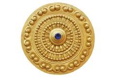 Thammachak i templet Royaltyfria Bilder