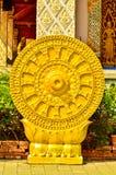 Thammachak symbol Stock Photo